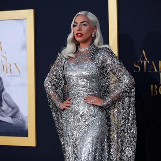 Исполнительница главной роли в фильме «Звезда родилась» Леди Гага