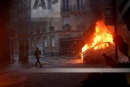 Трамп позлорадствовал над беспорядками в Париже