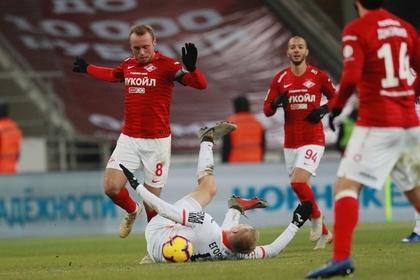 «Спартак» упустил победу в Кубке России