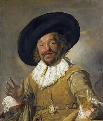 Франс Халс. «Веселый собутыльник», 1628-1630 годы