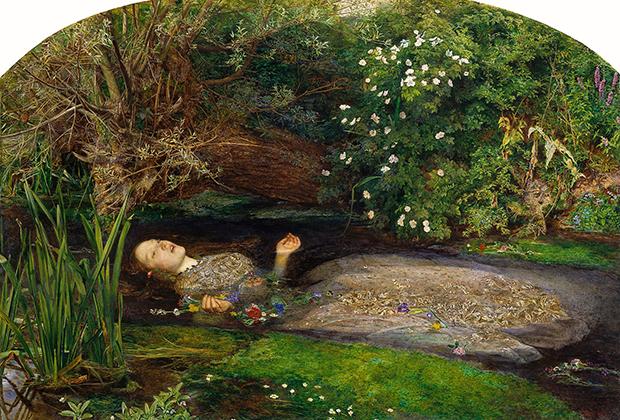 Джон Эверетт Милле «Офелия», 1851-1852 годы