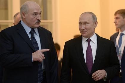 В Кремле прокомментировали спор Путина и Лукашенко