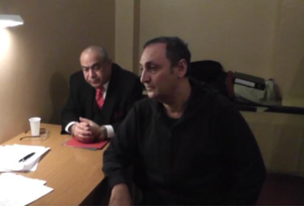 Геннадий Манаширов (справа)
