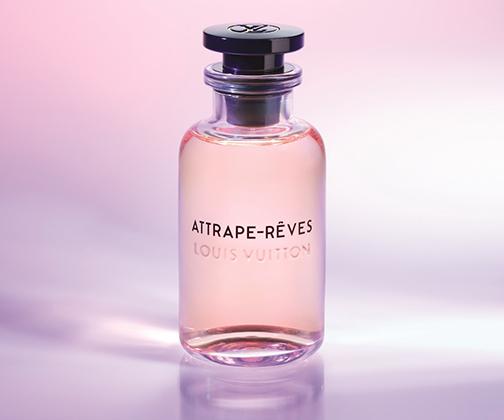 Последний на данный момент аромат в женской коллекции парфюмерии французского дома Louis Vuitton под названием Attrape-Rêves создан в 2018 году «носом» Жаком Кавалье-Бельтрю. Построен на сочетании нот цветов пиона и какао-бобов и обладает нежным коралловым оттенком.