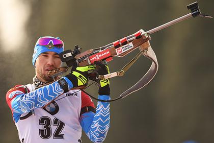 Российский биатлонист завоевал первую медаль в сезоне