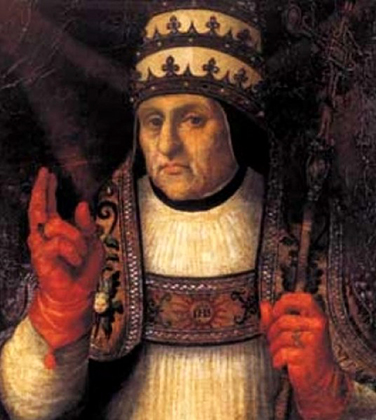 Портрет папы Каликста III кисти Висенте Хуана Масипа. Первый папа из клана де Борха тоже был далек от святости, но по сравнению с племянником еще сдержан.