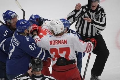 Судья попал в больницу после нападения российского хоккеиста во время матча