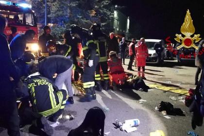 В давке на концерте в Италии погибли шесть человек и более 120 пострадали