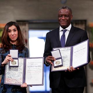 Надя Мурад и Денис Муквеге