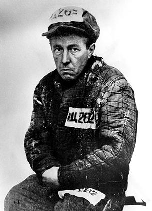 Александр Солженицын в лагере