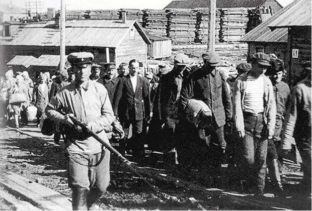 Соловецкий лагерь