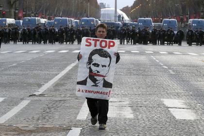 «Желтые жилеты» ответили мобилизацией на чрезвычайное положение во Франции