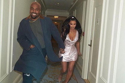 Раскрыты спальные наряды Ким Кардашьян и мужа