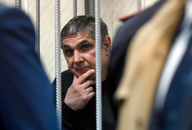 Захарий Калашов (Шакро Молодой) на суде