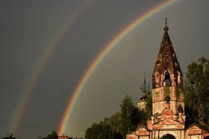 Заброшенная церковь в Ярославской области