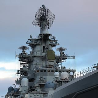 Атомный крейсер «Петр Великий», на котором установлен ЗРК «Форт»