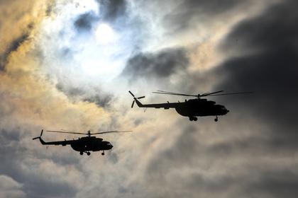 Вертолет Ми-8 упал под Томском