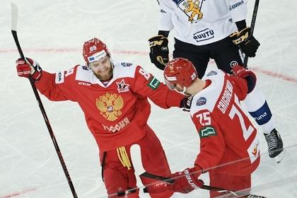 Сборная России разгромила Финляндию и победила на домашнем этапе Евротура