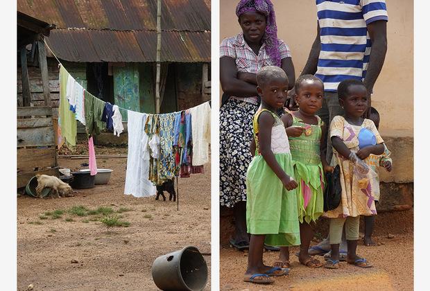 Ганцы умудряются сочетать свою крайнюю религиозность с ужасной суеверностью. Например, в стране существует такое понятие, как «лагеря ведьм». Большинство из них располагается на севере Ганы, куда словно в ссылку отправляют всех женщин, обвиненных в колдовстве. Причем колдовством здесь могут посчитать любое неверное действие. <br> <br> Когда новая «ведьма» прибывает в лагерь, его вождь проводит незатейливый обряд. Он подбрасывает в небо курицу, и, пока она летит, делает ничем не обоснованный вывод — виновна женщина или нет. Если подброшенная в небо курица «оправдает» девушку, семья может забрать ее обратно домой.
