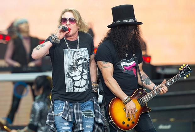 13 июля 2018 года. Guns N' Roses на стадионе «Открытие Арена» в Москве