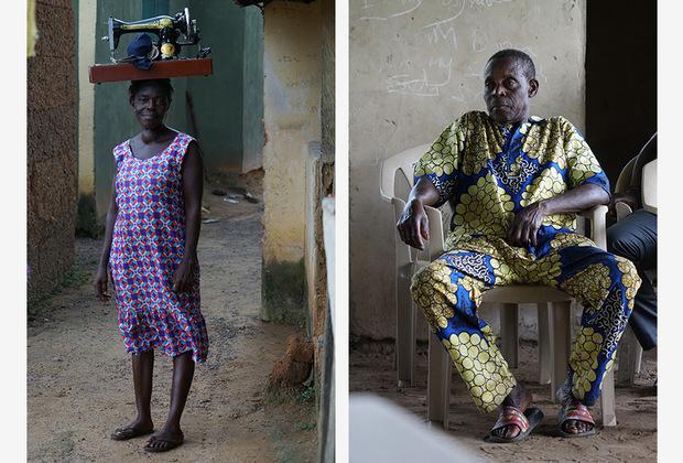 Жительницы Ганы постоянно носят на своей голове очень тяжелые предметы — от тазов с грязным бельем весом несколько килограммов до массивных швейных машин. Девушек обучают этому с самого детства, поскольку считается, что так нагрузка распределяется правильнее, чем если бы они таскали груз за спиной или в руках. <br> <br> Еще одной примечательной особенностью страны стали броские принты и ткани ярких цветов, которые очень к лицу чернокожим людям.