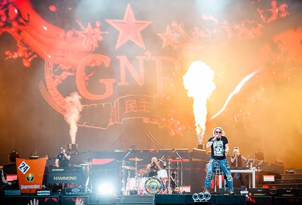 Guns N' Roses на стадионе «Открытие Арена» в Москве