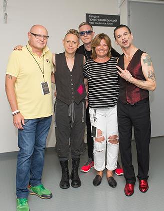 С группой Depeche Mode Надежду Соловьеву связывает давняя дружба