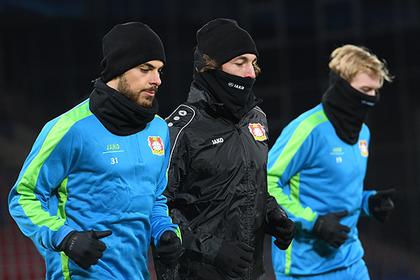 Немецкий футбольный клуб испугался морозов в Краснодаре и оконфузился