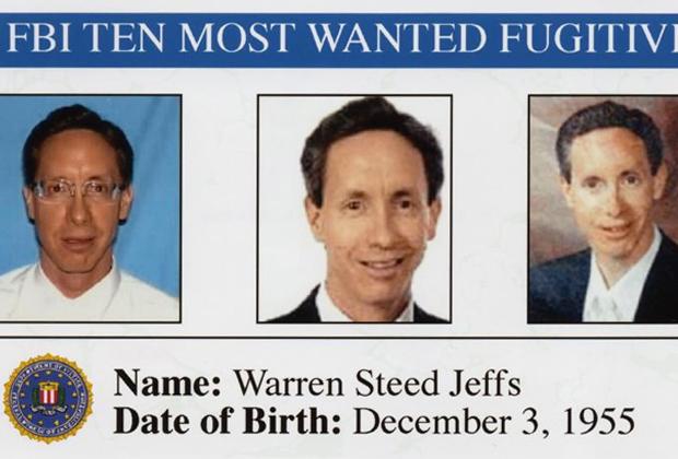 Ориентировка ФБР на Джеффса