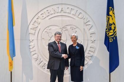МВФ согласился одолжить Украине почти четыре миллиарда долларов