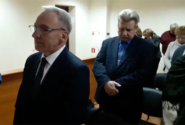 Александр Ругин во время оглашения приговора