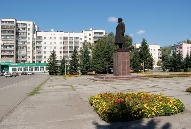 Площадь Ленина в Бийске