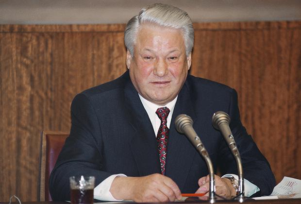 Бывший президент РФ Борис Николаевич Ельцин