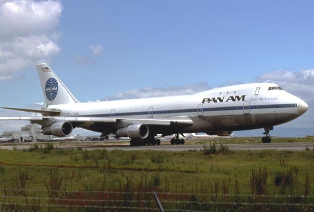 Упавший самолет за десять лет до трагедии