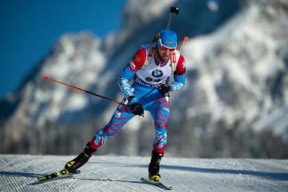 Россиянин впервые выиграл серебро на Кубке мира по биатлону