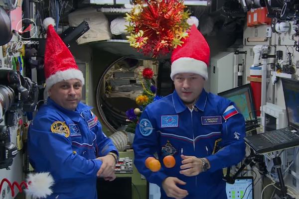 Поздравления с новым годом космонавтам