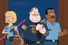 О комедийном мультсериале «Полиция Парадайз» можно говорить бесконечно, но главное здесь то, что у телегигантов вроде 20th Century Fox с его «Гриффинами» и у Comedy Central с «Южным парком» появился конкурент в лице Netflix, способный создать что-то еще более скабрезное, чем те взрослые мультфильмы, к которым мы уже привыкли. («Конь БоДжек», тоже производства стримингового сервиса, не в счет: слишком красиво и многогранно то, что происходит на экране.) <br><br> В общем, пожалуй, в этом году именно «Полиция Парадайз» поставила рекорд по количеству шуток про жопы и пердеж — и все это на общем сатирическом фоне, затрагивающем вполне серьезные проблемы современного американского общества— от коррупции и безделья чиновников до расизма.