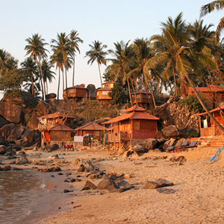 Пляж Палолем в штате Гоа