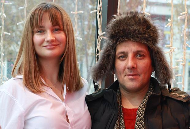 Марийка Воробей и Владимир Кучеренко