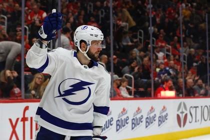 Российский хоккеист набрал пять очков в матче НХЛ и стал первой звездой дня