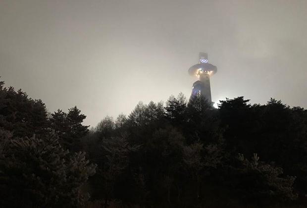 Найдите Олимпиаду в тумане