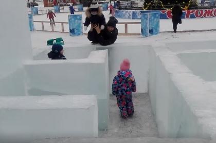 Российских детей отправили в лабиринт без выхода