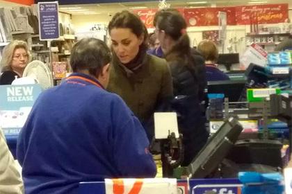 Кейт Миддлтон закупилась в магазине «для бедных»