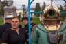 Архангельск, июль 2016. <br> <br> На память о Дне Военно-Морского Флота — фото с водолазом.