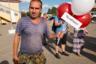 Углич, Ярославская область, август 2015. <br> <br> Открытие главного фотофестиваля страны — «Фотопарада в Угличе». Челябинск и здесь — самый суровый.