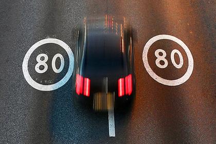 Глава ГИБДД захотел увеличить штрафы за незначительное превышение скорости
