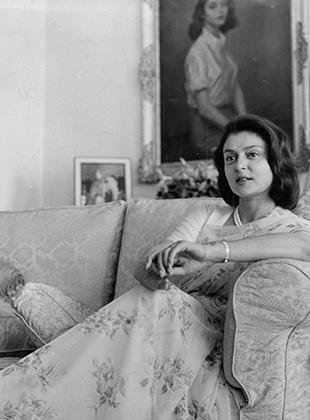 Махарани Гаятри Деви в 1961 году