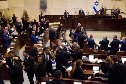 Израильский парламент распустился