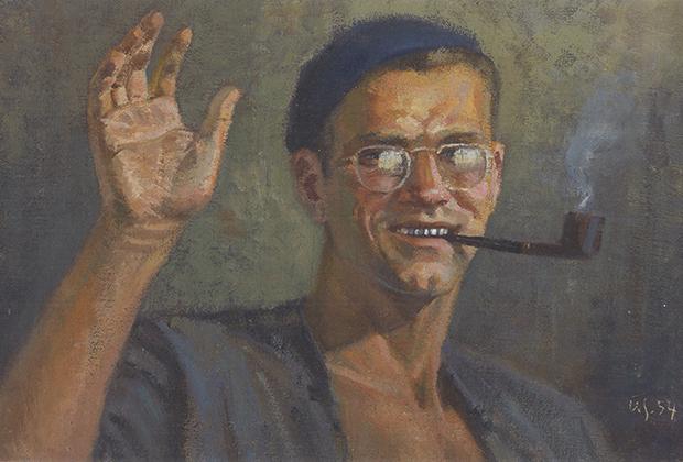 «Автопортрет», 1954 год