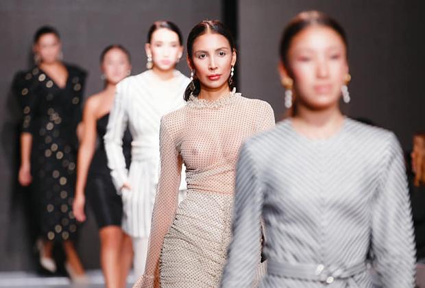 Модный показ Fashion Night Astana